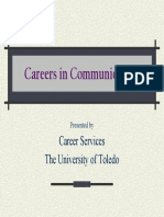 Careers in Communication pdf presentation