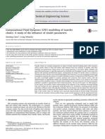 Computational Fluid Dynamics (CFD) modelling of transfer chutes