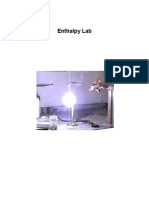 Enthalpy Lab