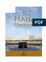 75 Questions and Answer on Hajj and Umrah