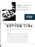 Customer Delight And The Bottom Line