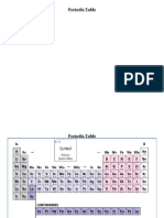 periodic table and ions