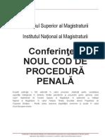 Rezumatele conferintelor NCPP