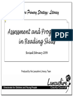 Assessment and Progression in Reading Skills (Updated Feb 2009)