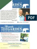 Amanda Teegarden for State Senate District 39