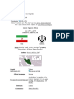 Iran History & Education System