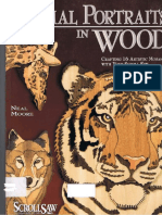 1Animal Portraits in Wood_Crafting 16 Artistic Mosaics With Your