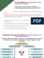 6 - Variáveis Nas Análises Térmicas e Otimização - TG