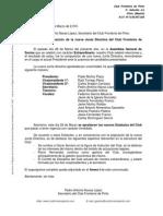 Comunicado Nueva Junta Directiva Del Club Frontenis Pinto 28 03 2010