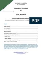 Profilul candidatului la consiliile locale din București, susținut de Inițiativa România