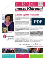 Le journal de Chaynesse KHIROUNI n°3