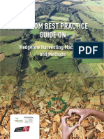 TWECOM best practice guide on hedgerow harvesting and machinery