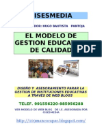 Modelo de Gestion Educativa de Calidad
