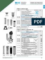 B- Tratamiento Agua Tarifa PVP SalvadorEscoda