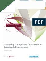 Unpacking Metropolitan Governance for Sustainable Development