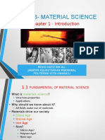 Chapter 1-Introduction to Material Science