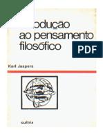 Introducao Ao Pensamento Filosofico - Karl Jaspers