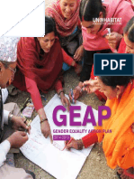 GEAP - Gender Equality Action Plan (2014-2019)