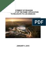 Rams Los Angeles Application