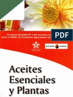 Aceites Esenciales y Plantas, Sena.