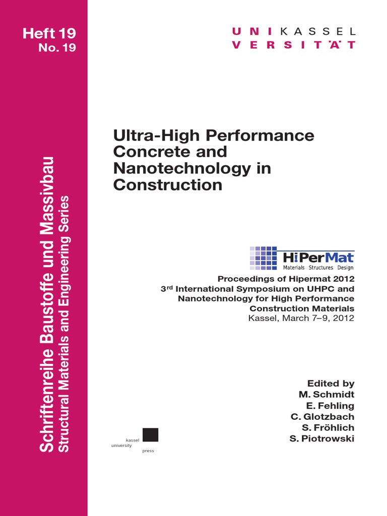 Hipermat 2012 Kassel Composite Material Concrete