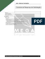 Manual MAT Controle de Reservas de Solicitação