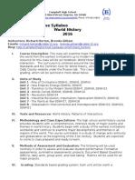 world history syllabus 2015-2016