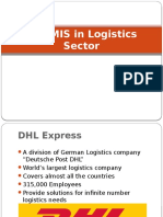 Use MIS in Logistics Sector