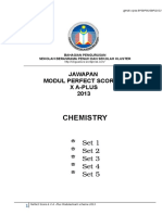 Answer Chem p Score x a Plus Module 2013