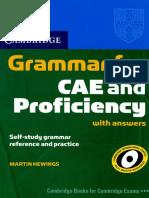 Cambridge Grammar for CAE and CPE
