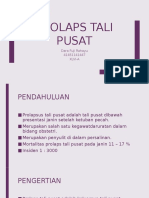PPT Prolaps Tali Pusat (REFERAT DR. JEFF)