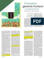 6. El Proyecto Genoma Humano y Geocentrismo