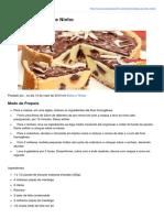 Receitasnota10.Com-Torta Trufada de Leite Ninho