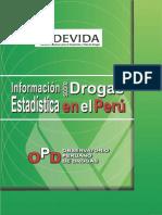 Información Estadística sobre Drogas en el Perú 2006
