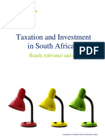 Taxation and Investment in SA 2015