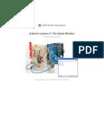 Adafruit Arduino Lesson 5 the Serial Monitor
