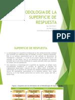 Metodologia de La Superficie de Respuesta