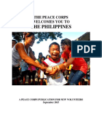 Peace Corps Philippines Welcome Book 2015 September