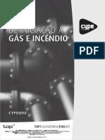 Manual Gás e Incêncio Cype