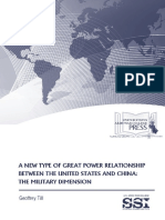A New Type of Great Power Relationship between the United States and China