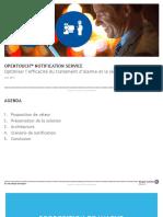 OpenTouchNotificationService GlobalPresentation FR