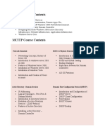 42719690 MCITP Course Contents