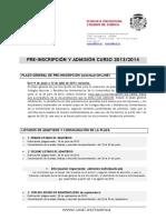 Calendario Admisión 2013-20 14