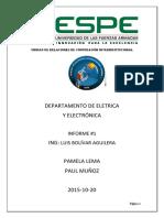 informe eletronica