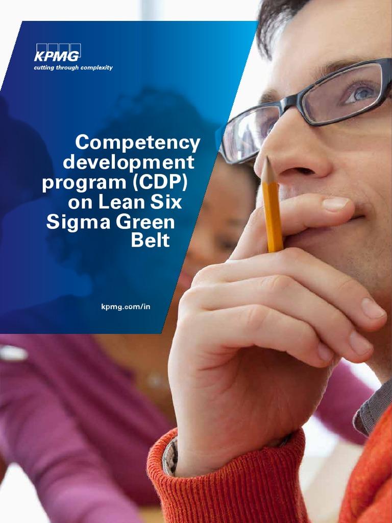 Lean Six Sigma Green Belt New Brochure Six Sigma Analytics