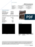 3506 Greenspring - BP Rental Calculator