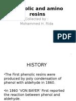 Phenolic and Amino Resins