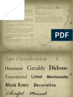 Type Classification eBook