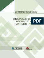 Informe de evaluación Programa de Desarrollo Alternativo Integral y Sostenible 2012
