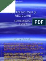 Ecotehnologie Şi Reciclare Curs